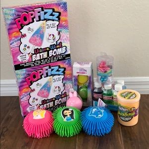 Slime and putty set